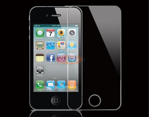 מגן מסך זכוכית מחוסמת לאייפון 4 4S להגנה מירבית iPhone 4/4s