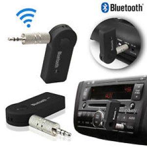מתאם AUX ל Bluetooth כולל מיקרופון להשמעת מוזיקה ולדיבורית