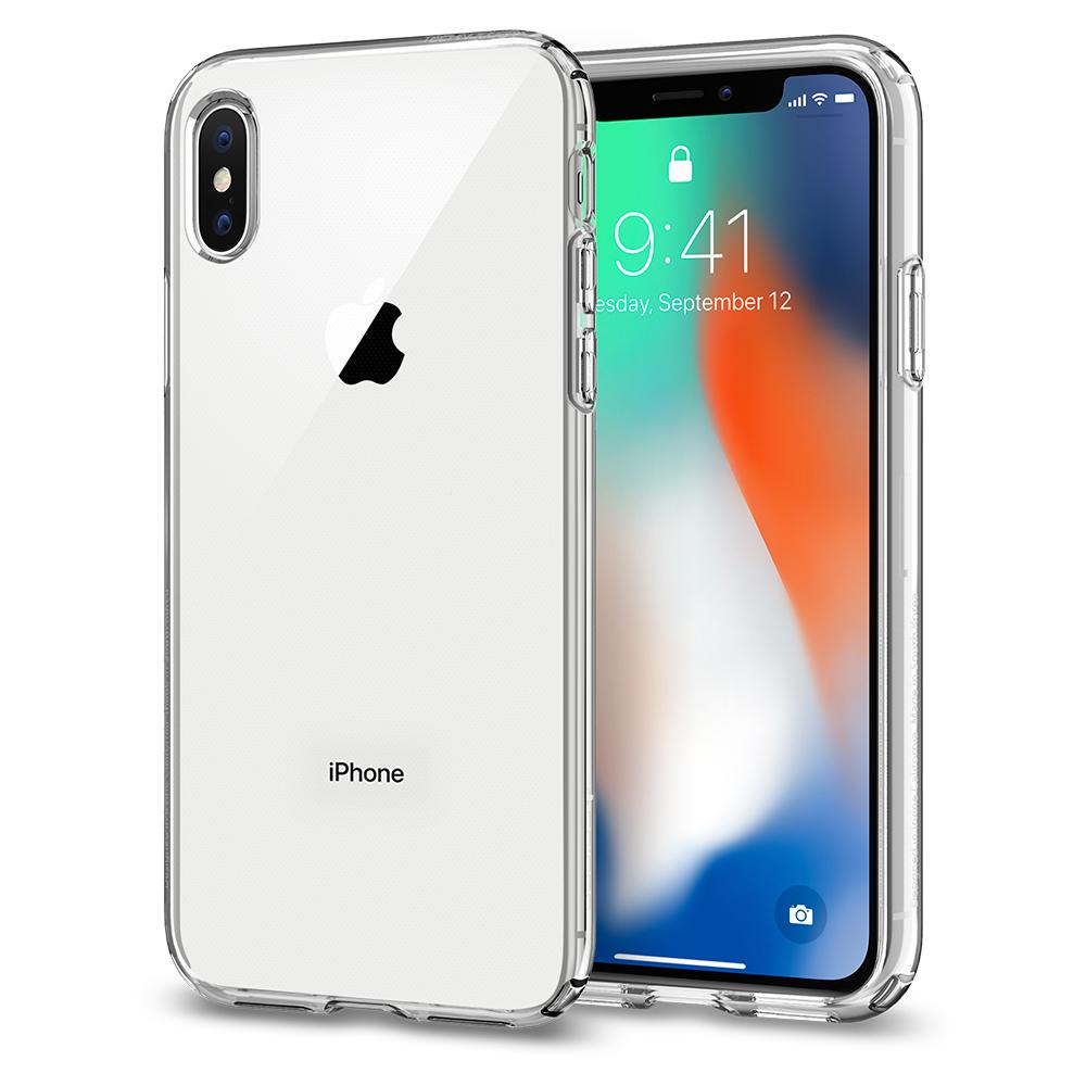 כיסוי לאייפון 10 IPHONE X שקוף חזק במיוחד