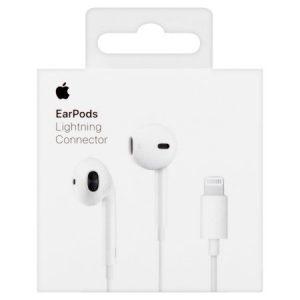 אוזניות Apple EarPods with Lightning מקוריות