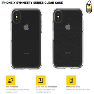check out a8696 d38a7 כיסוי לאייפון x שקוף OtterBox Symmetry