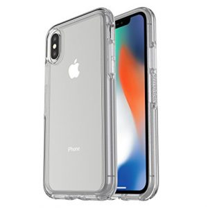 otter box symmetry iPhone x clear