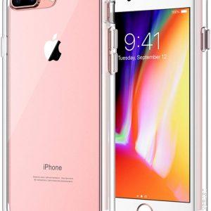 כיסוי לאייפון +8 פלוס שקוף חזק במיוחד עם 4 מרכזי ספיגת אנרגיה
