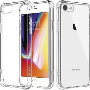 כיסוי לאייפון 8 שקוף חזק במיוחד עם 4 מרכזי ספיגת אנרגיה