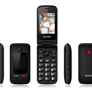 טלפון סלולרי למבוגרים סליידר עם תכונות חדשות דגם משופר W30
