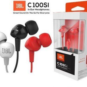 אוזניות חוט In-Ear סאונד מדהים JBL C100