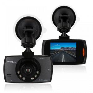 מצלמת וידאו איכותית לרכב HD 1080P זווית צילום רחבה וראיית לילה