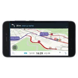 מכשיר ייעודי WAZE לניווט ברכב כשר למהדרין RedMi go