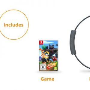 משחק מבוסס תנועה חדש Nintendo Switch Ring Fit Adventure