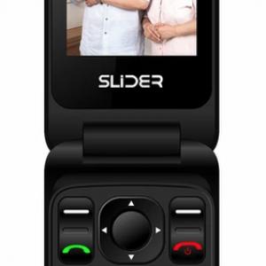 טלפון סלולרי למבוגרים סליידר עם תכונות חדשות W20