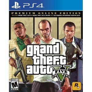משחק PS4 GTA Grand Theft Auto V – Premium Online Edition