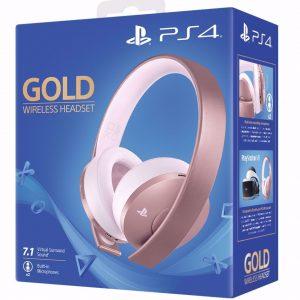 Sony Playstation 4 Gold Wireless Headset 7.1