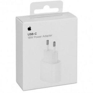 ראש טעינה מקורי מהיר מטען לאייפון Apple USB-C Power Adapter 18W