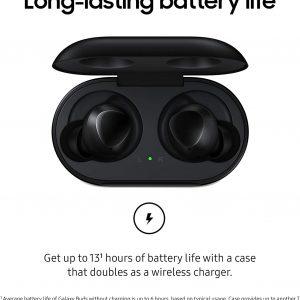 אוזניות אלחוטיות +Samsung Galaxy Buds שחור