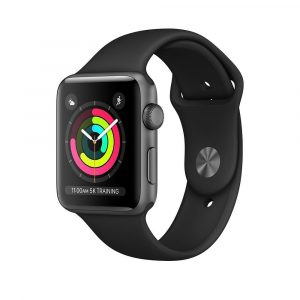 Apple Watch 3 42mm שעון אפל סדרה 3 42 ממ שחור GPS