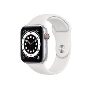 Apple Watch 6 cell 40mm שעון אפל סדרה 6 40 ממ כסוף לבן עם סלולר