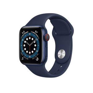 Apple Watch 6 cell 44mm שעון אפל סדרה 6 44 ממ כחול ספורט עם סלולר